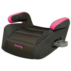 Dreamtime Deluxe Comfort Booster Car Seat Raspberry Harmony Juvenile Products