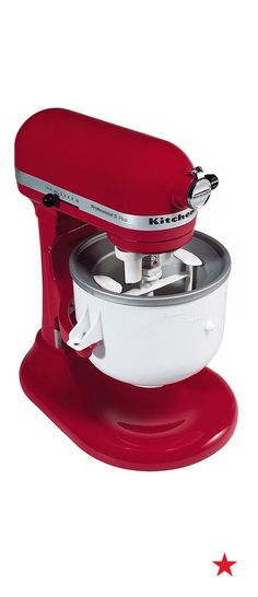 Maximize use of your ice cream maker and snap in KitchenAid's 2-quart attachment freezer bowl for all sorts of frozen desserts. It provides complete, even freezing of ice cream batter, plus comes with a recipe guide. And it's easy to clean!