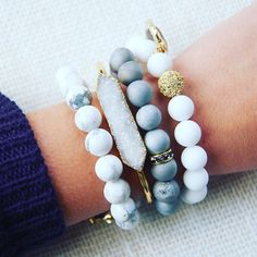 Stacking our collections gives a unique look to any outfit. Mix and match any style and be sure to impress!