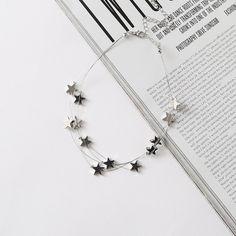 "10.9 m Gostos, 15 Comentários - Romwe.com (@romwe_fashion) no Instagram: ""gift idea. shop link in bio. (SKU: necklaceNC170530301 US$4.99 ) #romwe #stardesign #necklace…"""