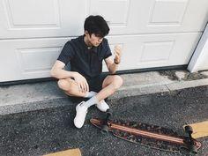 "Polubienia: 7,092, komentarze: 58 – PARK YURI (@park_yury) na Instagramie: ""Longboarding  cool or nah?"""