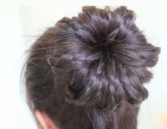 Braided Sock Bun Updo Hair Tutorial & how to make a sock bun to use for the hair