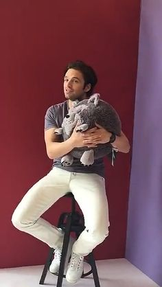 BuzzFeed Snapchat: Video #04 (March 2016) - 003 - Sebastian Stan Photo Archive |