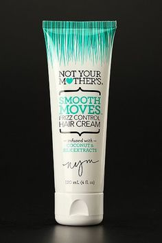 Not Your Mother's Smooth Moves Frizz Control Hair Cream  my hair is soo frizzy