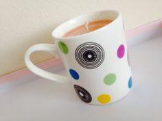 Espresso Mug Hand Made scented candle - The Supermums Craft Fair