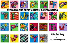 The Good Long Road: Kids Get Arty: Romero Britto