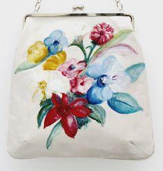 Mia Mia handbag with flowers print