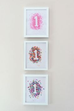 Sprinkles, Sparkles and Confetti: Carmendy's First Birthday Party - Ice Cream Off Paper Plates