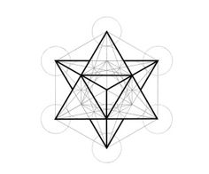 metatron's cube - Apart from its geometric & religious significance, the cube is a said to be a powerful symbol of protection, able to keep away demons and other unwanted influences. This is perhaps one of the reasons why people get it inked onto their skin