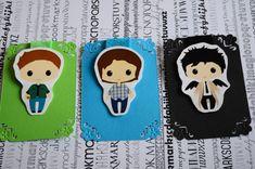 Señal magnética Sam Dean Winchester Castiel por Magicbookmarks