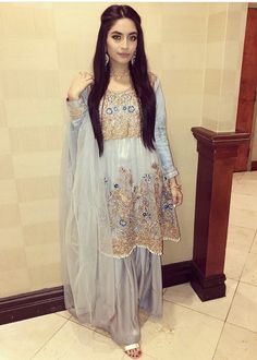 Pakistani Couture, Pakistani Outfits, Indian Outfits, Traditional Fashion, Traditional Dresses, Ethnic Fashion, Women's Fashion, Pakistan Street Style, Indian Bridal Fashion