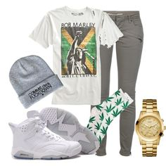 A fashion look from March 2013 featuring Pierre Balmain jeans, HUF socks and GUESS watches. Browse and shop related looks.