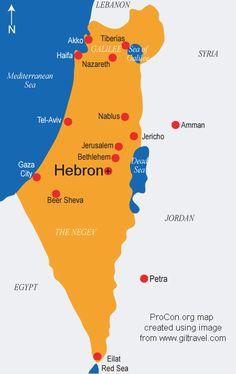 Map of palestine palestinian maps and information gaza strip bible map joseph google search gumiabroncs Choice Image