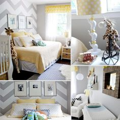 I think this is the best idea for a nursery ever: having a little bed right next to the baby's!