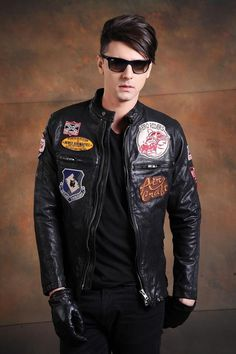 Find More Information about Free Shipping Exported to Japan Hot Sale Men Leather Jacket Black 100% Genuine Cow Skin Motorcycle Style Winter Men Coat,High Quality coat hook,China coat outerwear Suppliers, Cheap coat duck from ShowGirl Fashion on Aliexpress.com