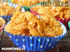 Honey Crackles (aka Honey Joys)
