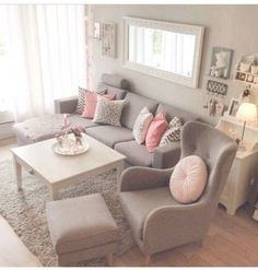 46 Stunning Romantic Living Room Decor Ideas - Popy Home