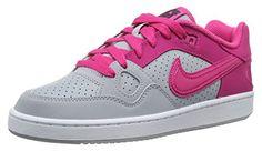 Nike Son Of Force 616302-003 Damen Sneaker Grau (Wlf Grey/Vvd Pnk-White-Anthrct) 36.5 - Sneakers für frauen (*Partner-Link)