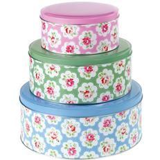 Round Cake Tins (Provence Rose). Cath Kidston £25