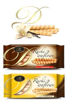 DELIKANTE wafer rolls on Behance