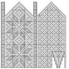 Bilderesultat for strikke diagram Crochet Mittens Free Pattern, Knitting Socks, Mitten Gloves, Knitting Charts, Knitting Stitches, Knitting Patterns, Yarn Projects, Embroidery Stitches, Tricot