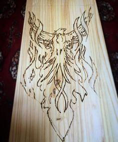 Hungover crafts. #art #arte #wood #woodwork #woodburning #pyrography #flame #pyro #fire #burn #phoenix #uchicago #tree #pine #craft #houston #artist #draw #drawing #sketch #sketching #illustrate #illustrator #illustration #hangover #hungover #sleepover #teamwork de elkkkkkk