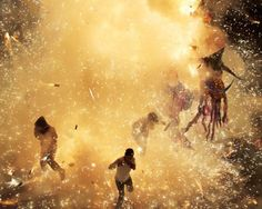 Stunning Photos of the National Pyrotechnic Festival in Mexico