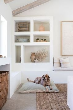 sage linen dog bed from The Wolf Nest sage linen dog bed from The Wolf Nest The post sage linen dog bed from The Wolf Nest appeared first on Home. Room Paint Colors, Paint Colors For Living Room, Decoration Inspiration, Interior Design Inspiration, Interior Ideas, Design Ideas, Decor Ideas, Sage Color, Deco Design