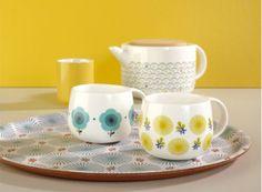 Tasse Fleurs, design Mr & Mrs Clynk pour #AtomicSoda - #matea