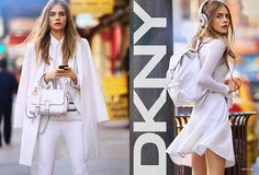 Cara Delevingne for DKNY. NY rules