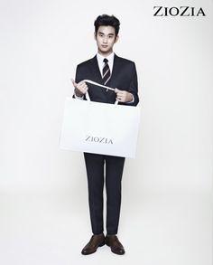 Kim Soo Hyun (김수현) for ZIOZIA (지오지아) 2012 F/W #12 #KimSooHyun #SooHyun #ZIOZIA