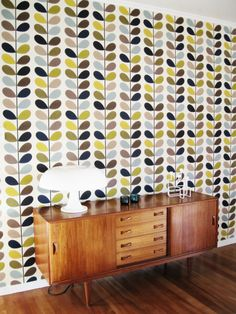 Multi Stem wallpaper. Malcolm Fabrics · Orla Kiely Wallpapers