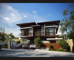 Explore photos on Photobucket. House Architecture Styles, Modern Architecture Design, Concept Architecture, Minimalist House Design, Small House Design, Modern House Design, Asian House, Modern House Facades, Contemporary Houses