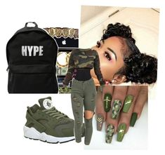 """Untitled #32"" by patty30 ❤ liked on Polyvore featuring NIKE and Lisa Marie Fernandez"