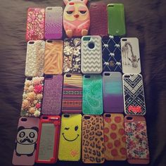 iPhone 5/5s cases I phone 5 and 5s cases (fits both)! Really good condition! 2 cases are from Victoria secret. No trades sorry PINK Victoria's Secret Accessories Phone Cases