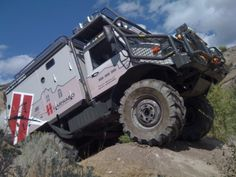 Off-Road RV Unimog | Unimog Expedition Camper For Sale | Unimog® Shop