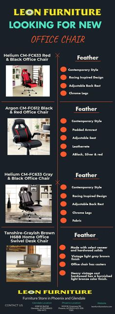 There is a wide range of office chair and Arizona office chair furniture that can enlighten the entire house with its enigma and magnificence.  To know more about the furniture, visit the website