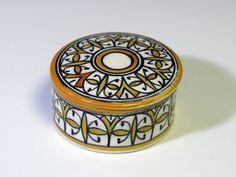 Pillbox cerâmica marroquina