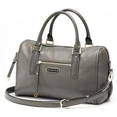 Dana Buchman Sloane Leather Satchel