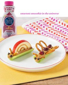 Snack time with Cosmic Smoothies