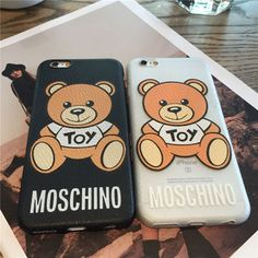 モスキーノ アイフォン7ケース iphone7 プラス カバー くまちゃん ケース 可愛い 薄型 芸能人愛用