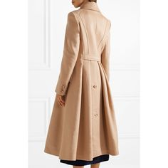 Gabriela Hearst Cantwell cashmere coat (€2.740) ❤ liked on Polyvore featuring outerwear, coats, cashmere coat, pure cashmere coat, wool cashmere coat, double-breasted coat and gabriela hearst