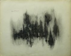 Norman Lewis, Untitled, 1951 Pen, ink and charcoal on paper, 19 x 24 1/2 inches