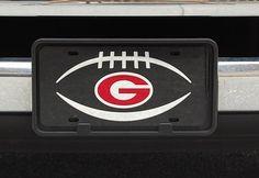 G GEORGIA Super Stock Metal License Plate 6 x 12 Tag City Super deluxe auto tag