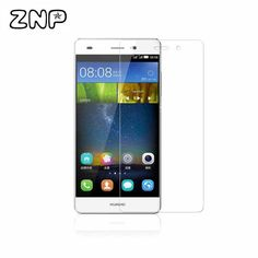 Anti-Explosion 2.5D Tempered Glass Film Explosion Proof Screen Protector For Huawei P6 P7 P8 P8 lite mate8 mate7+ Cleaning Kit