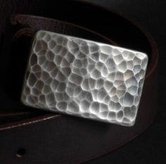 Classic Silver Golf Belt Buckle Hypo Allergenic by ironartcanada
