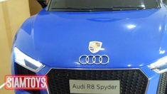 SIAMTOYS - รถเด็ก รุ่น AUDI R8 ลิขสิทธิ์แท้ (สีน้ำเงิน) - Line id : @sia...