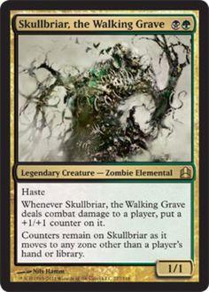 Skullbriar-the-Walking-Grave-x1-Magic-the-Gathering-1x-Commander-mtg-rare-card