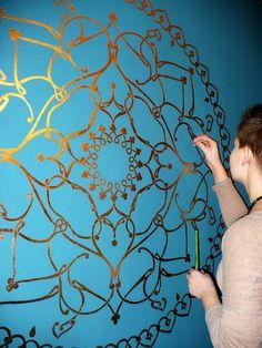 Mandala - wall decoration   by ...BELL...