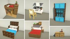 Here are some 1.16 Bedroom Decorations. What do you all think? : Minecraftbuilds Minecraft Mansion, Minecraft Cottage, Easy Minecraft Houses, Minecraft House Tutorials, Minecraft Plans, Minecraft House Designs, Minecraft Decorations, Amazing Minecraft, Minecraft Tutorial